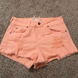 Altar'd State orange shorts